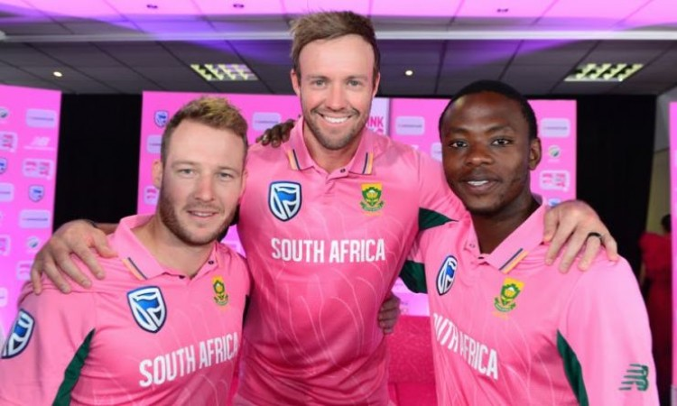 South Africa Pink jersey