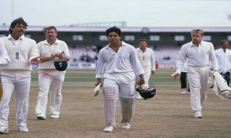 Image of Cricket Sachin Tendulkar